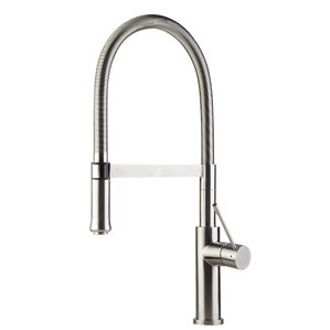 Alfi Brand Single Handle Pull Down Kitchen Faucet