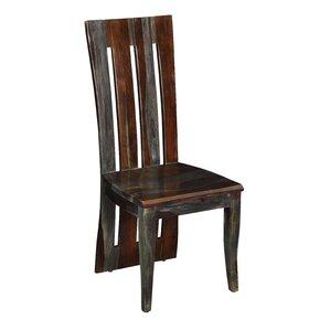 Almon Solid Wood Dining Chair (Set of 2) by Loon Peak