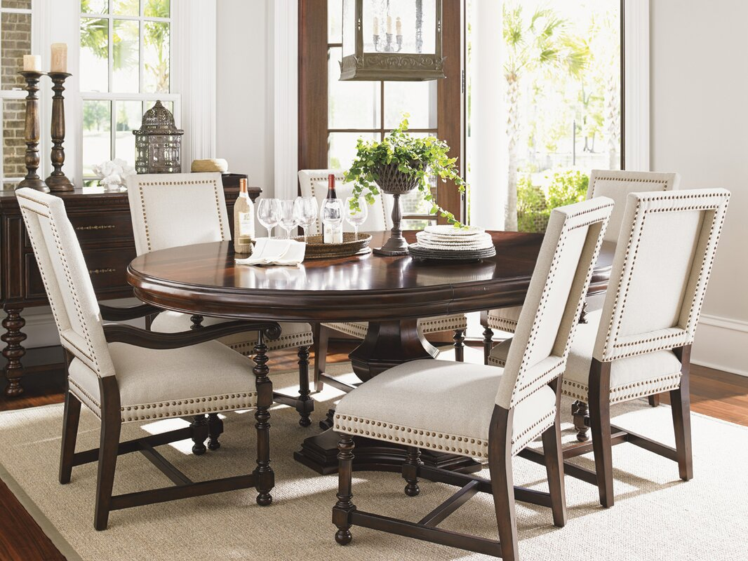 accent chairs for dining room clarity photographs | Lexington Kilimanjaro Upholstered Dining Chair & Reviews ...