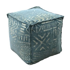 Ressington Pouf Ottoman by World Menagerie
