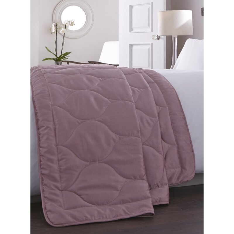 Charlotte Thomas Francesca Quilted Bed Throw In Plum: Charlotte Thomas Anastasia Quilt & Reviews