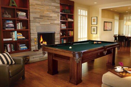 Brunswick Billiards Oak Hill Billiards 8u0027 Pool Table U0026 Reviews   Wayfair