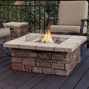 Beau Sedona Concrete Propane/Natural Gas Fire Pit Table