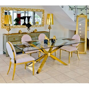 Midus Dining Set With 6 Chairs