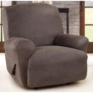 Ultimate Stretch Box Cushion Recliner Slipcover & Big Man Recliner Covers | Wayfair islam-shia.org