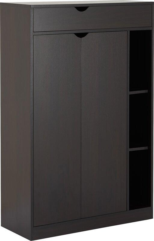 Modern 8 Pair Shoe Storage Cabinet