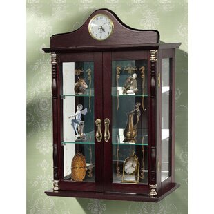 Wall-Mounted Curio Cabinet
