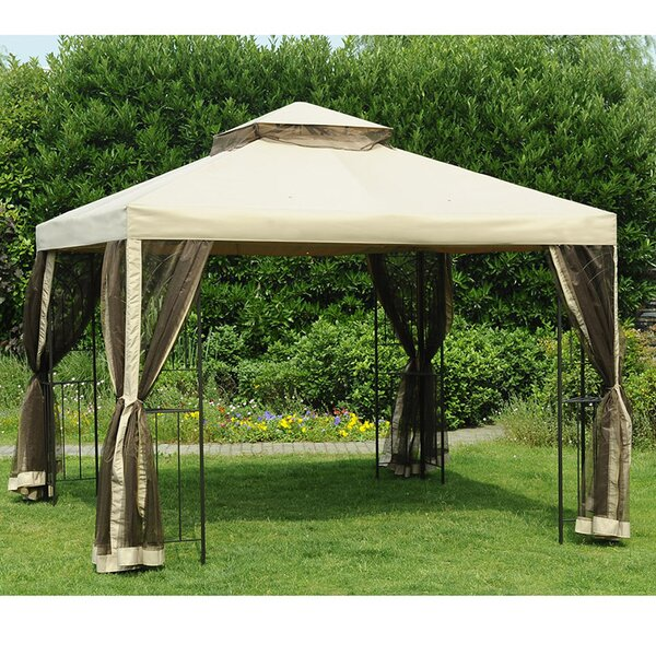 Sunjoy replacement canopy for 10 39 w x 10 39 d easy set up for Gazebo plegable easy