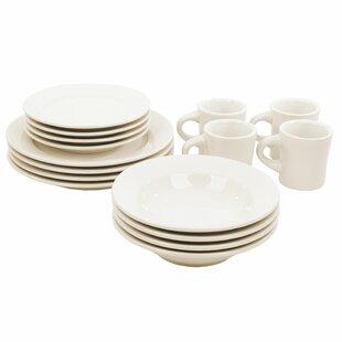 Buffalo 16 Piece Dinnerware Set Service For 4. by Oneida  sc 1 st  Wayfair & Oneida Dinnerware Sets Youu0027ll Love