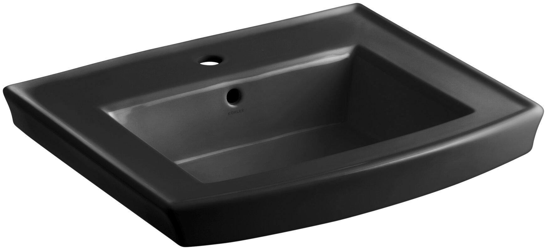 100 4 Leg Pedestal Sink Cierra Console With Brass