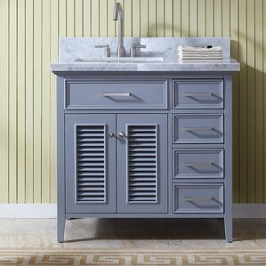 Birch Bathroom Vanities solid birch bath vanity | wayfair