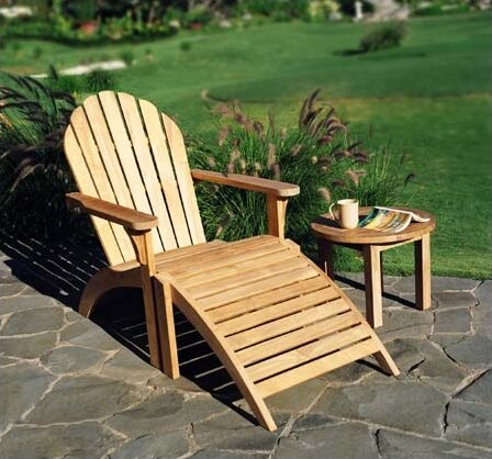 Teak Adirondack Chair & Three Birds Casual Teak Adirondack Chair | Wayfair