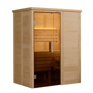 Hillsboro 2 Person Traditional Steam Sauna