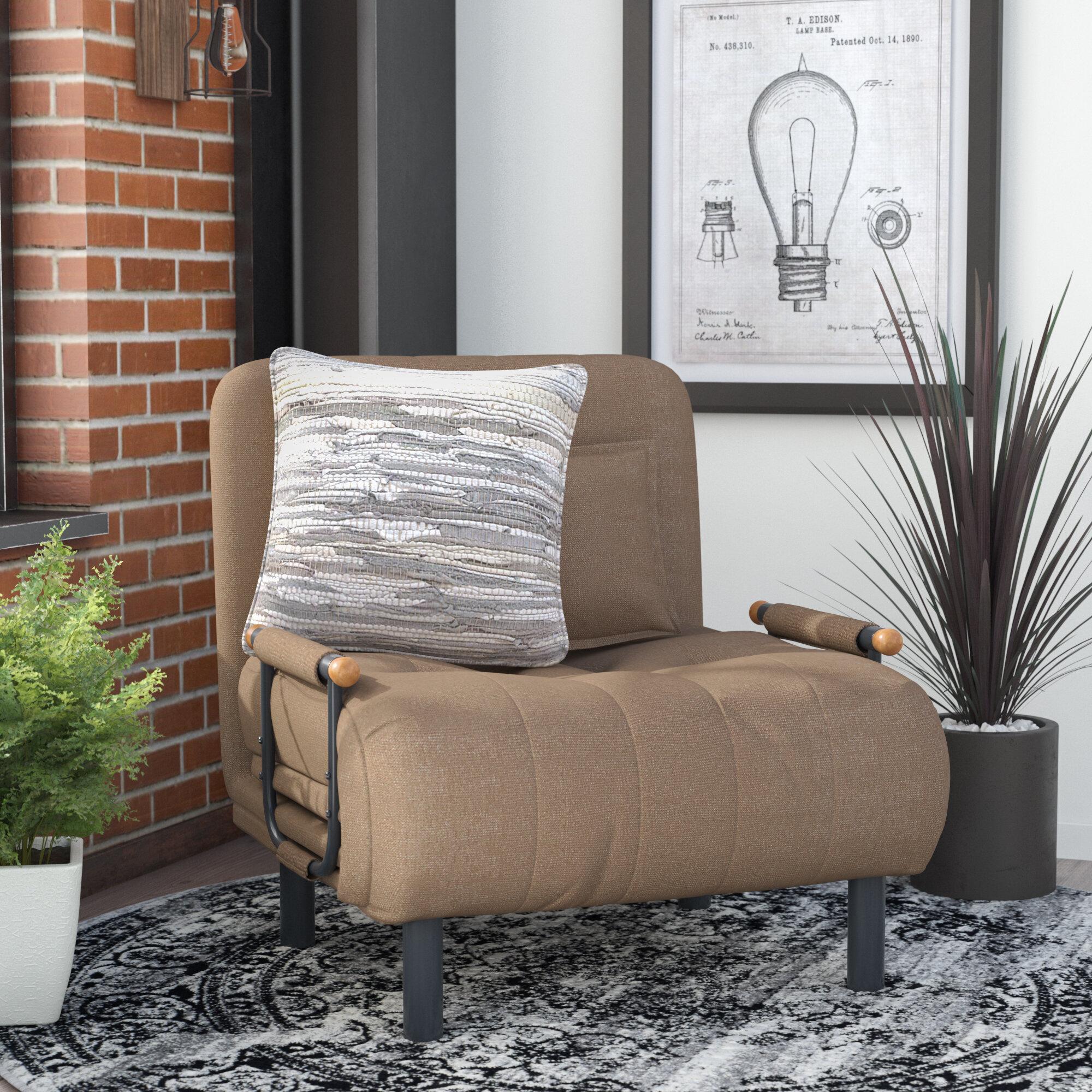 Trent Austin Design Eagle Vail Convertible Chair U0026 Reviews | Wayfair
