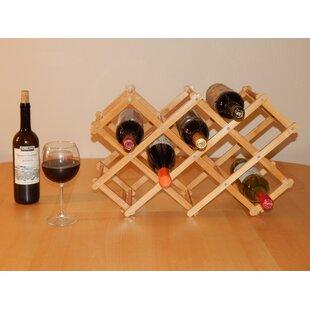 Home 8 Bottle Tabletop Wine Bottle Rack