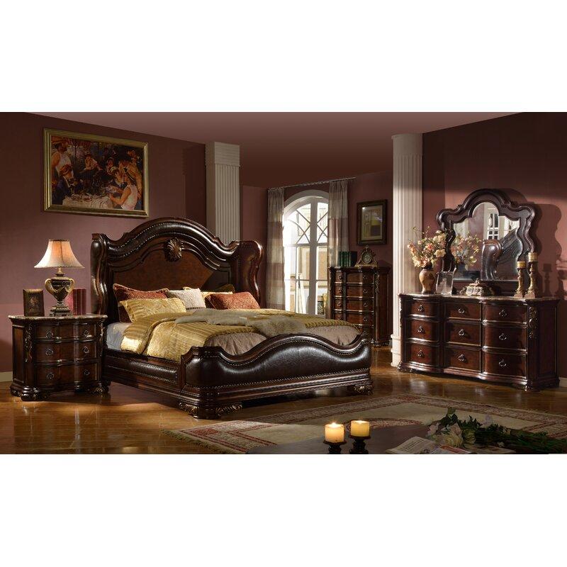 Astoria Grand Erwan Queen Panel Bedroom Set Wayfair