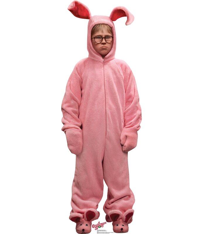 Advanced Graphics Deranged Easter Bunny - A Christmas Story Cardboard Standup & Reviews | Wayfair