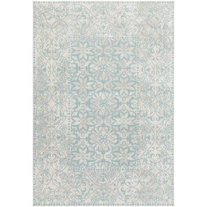 Velay Blue Area Rug