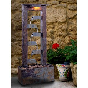 Natural Stone Aqueduct Slate Tabletop Fountain