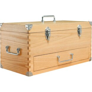 Brand-new Vintage Wood Tool Box | Wayfair PS51
