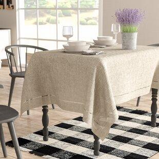 6b81ad4d4cbe Modern Farmhouse Tablecloth Table Linens You ll Love
