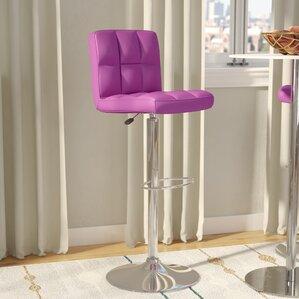 faith adjustable height swivel bar stool