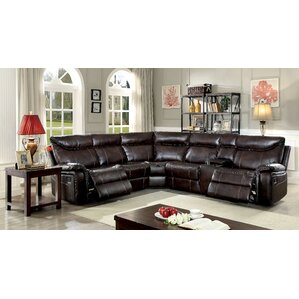 Boornazian Transitional Reclining Sectional by Red Barrel Studio