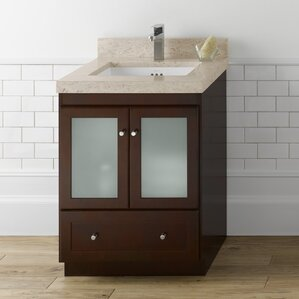 Bathroom Vanity Doors white shaker bathroom vanity | wayfair
