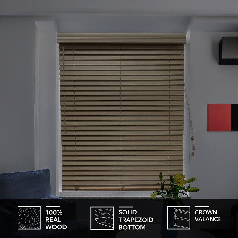 Chicology Real Wood Venetian Blind Reviews Wayfair