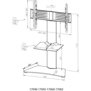 TV-Ständer Zental von VCM