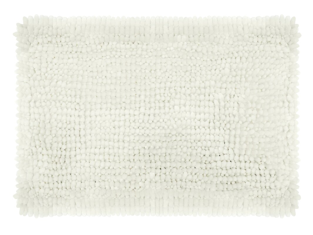 Laura Ashley Home Butter Chenille Bath Rug Amp Reviews Wayfair