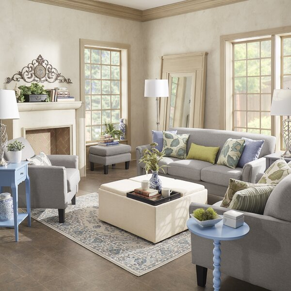 Rustic Chic Living Room | Wayfair