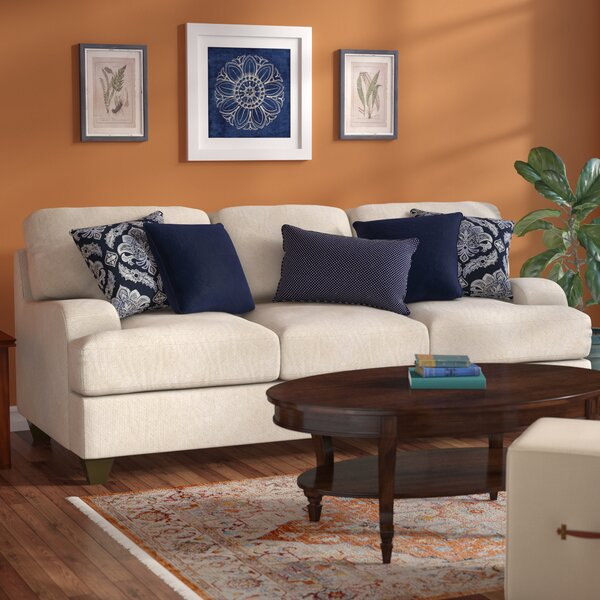 three posts simmons upholstery hattiesburg stone queen sleeper sofa reviews wayfair. Black Bedroom Furniture Sets. Home Design Ideas