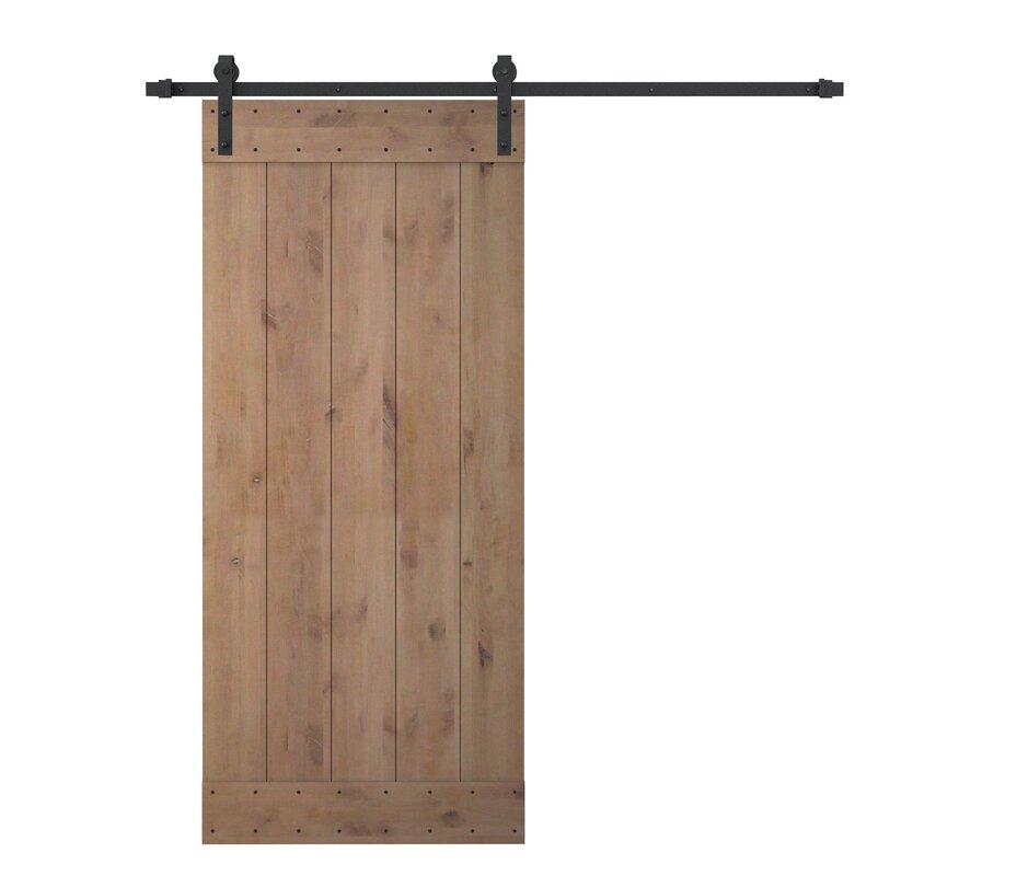 Calhome Bent Strap Sliding Door Track Hardware And Vertical Slat