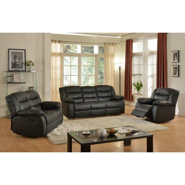 three piece living room set.  Living In Style Casta 3 Piece Room Set Reviews Wayfair