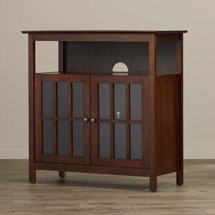 Attirant Tv Cabinet With Glass Doors | Wayfair