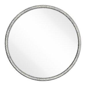 Chrome Wall Mirror chrome round mirrors you'll love | wayfair