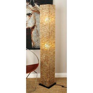 Reclaimed Wood Floor Lamp | Wayfair