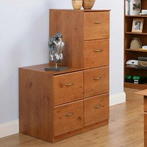Aktenschrank Senkrecht mit 4 Schubladen von Home & Haus