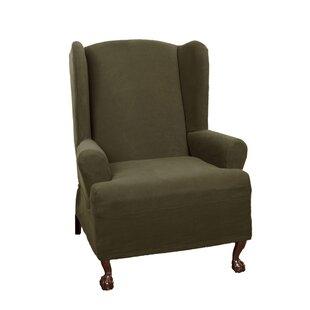 Wing Chair Slipcovers Youu0027ll Love   Wayfair
