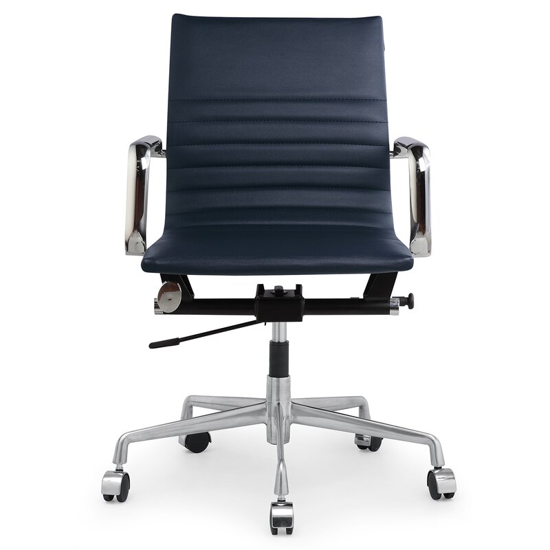 leather office chair. Vegan Leather Office Chair O