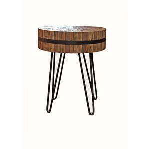 Reclaimed Woodslat End Table b..