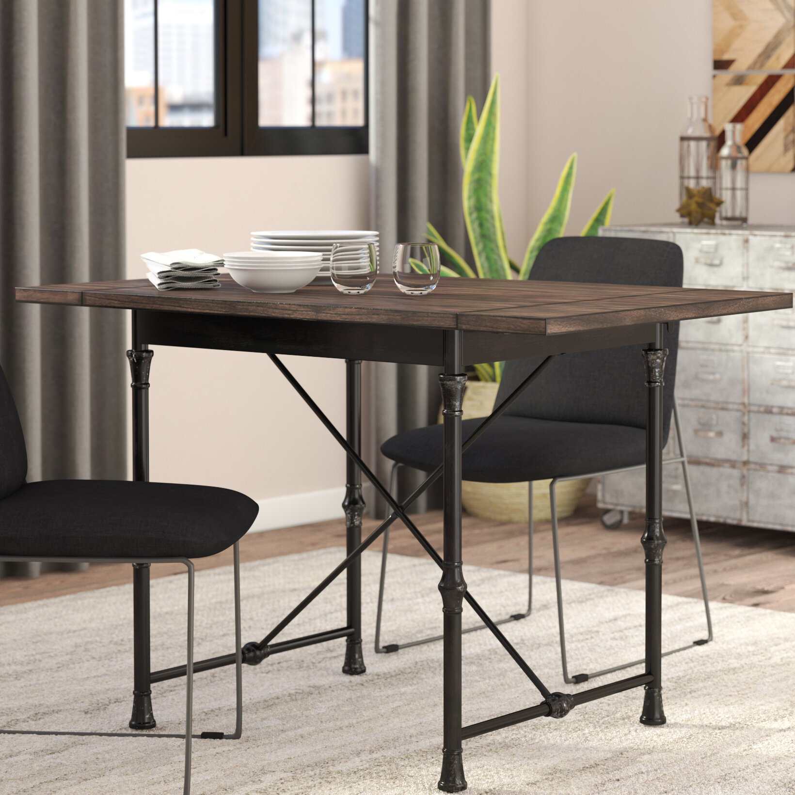 Trent Austin Design Cristal Drop Leaf Dining Table Reviews