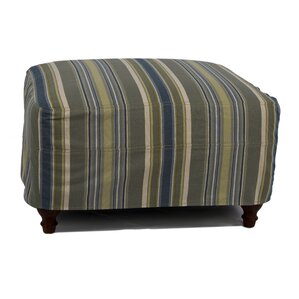Seacoast Ottoman Slipcover Set by Sunset Trading