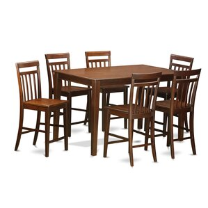 Dudley 7 Piece Counter Height Pub Table S..