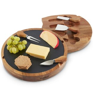 5 Piece Cheese Board Set by VonShef