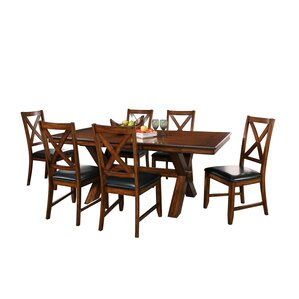 Lockwood 7 Piece Dining Set by Red Barrel Studio