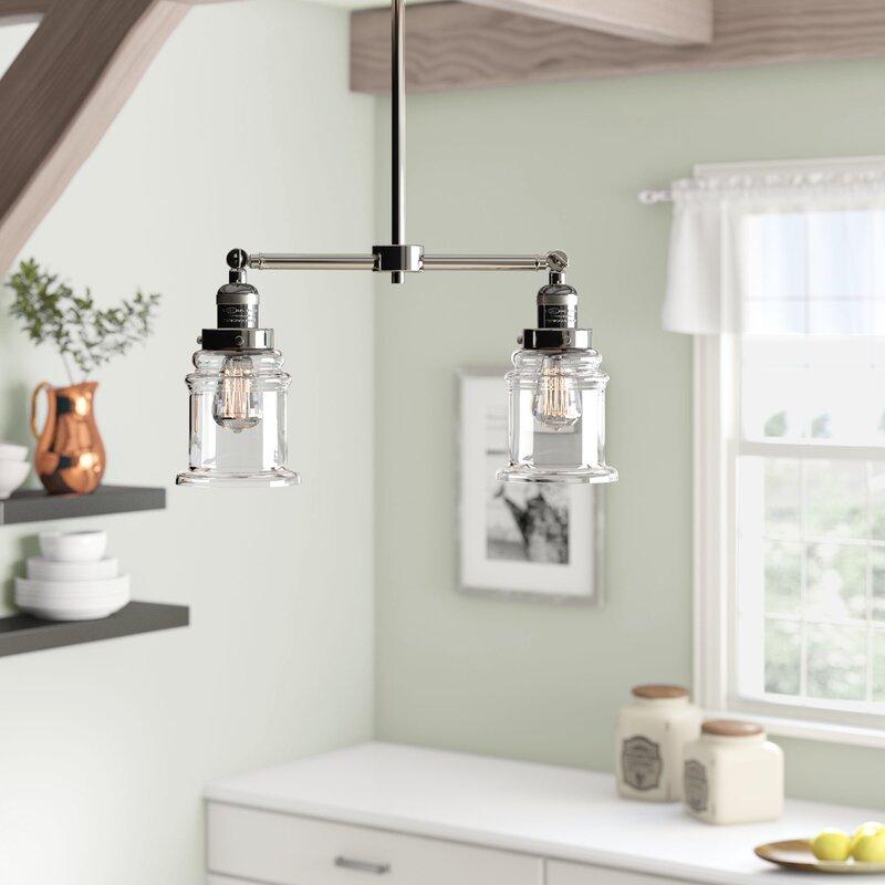 Laurel Foundry Modern Farmhouse Greeley 2-Light Kitchen