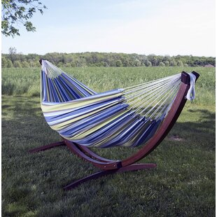 cotton hammock with stand hammocks with stands you u0027ll love   wayfair  rh   wayfair