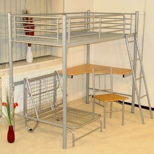 Tommy Loft High Sleeper Bed by Homestead Living